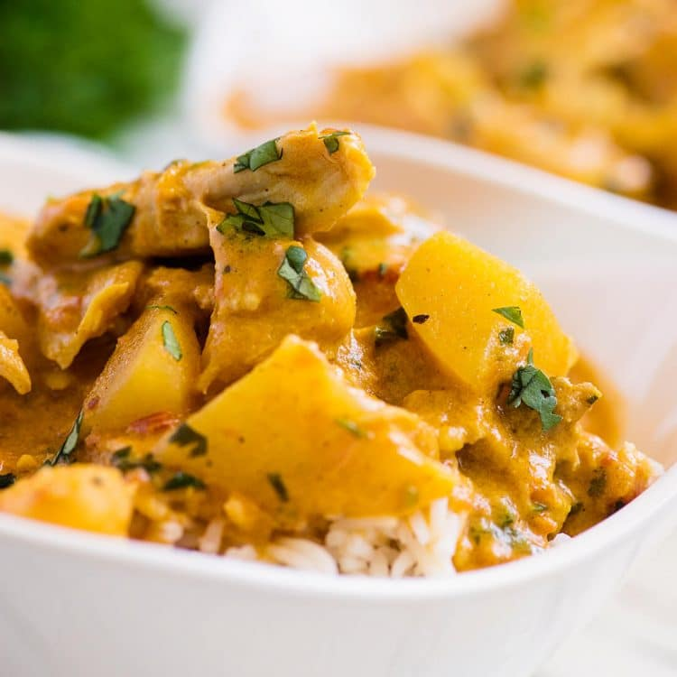 instant pot chicken recipes coconut curry