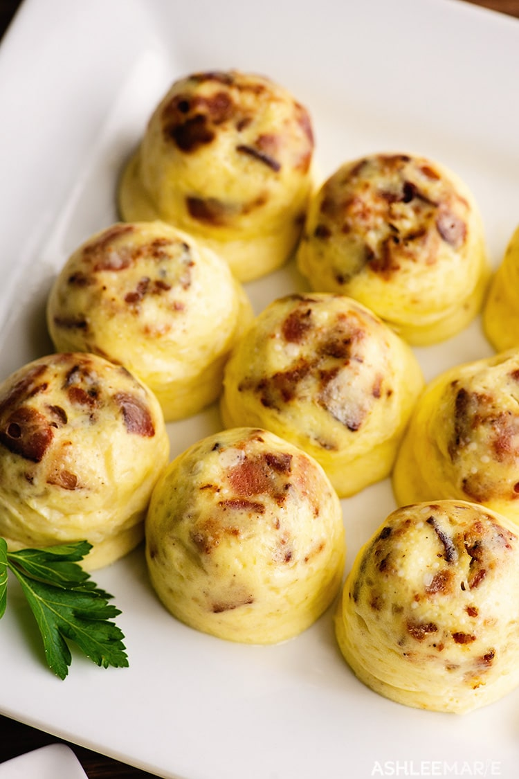 instant pot bacon and cheees egg bites