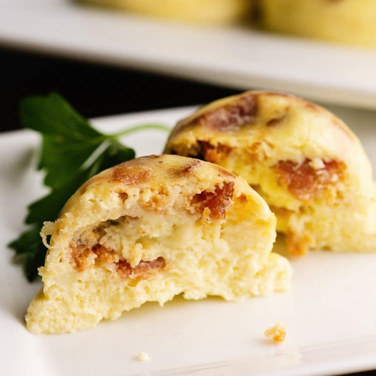 instant pot bacon and cheese egg bite recipe
