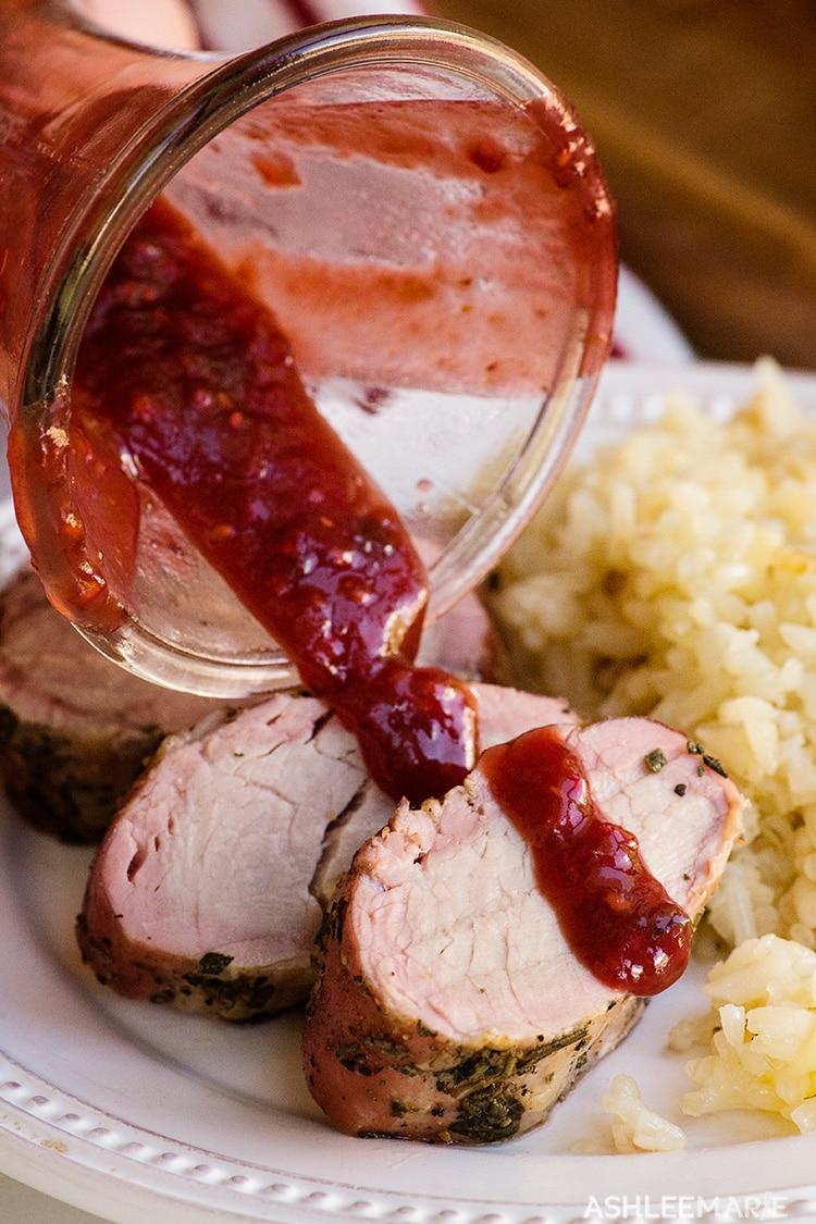 smoked-pork-tenderloin-and-raspberry-chipotle-sauce