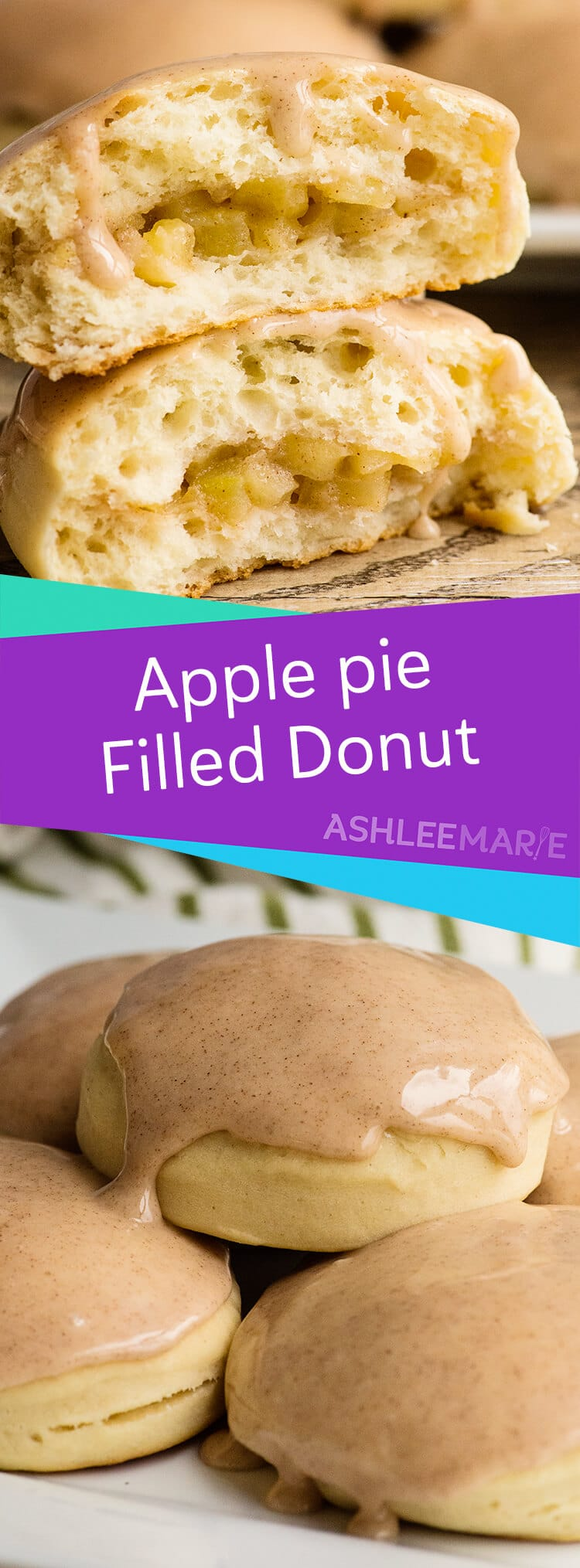 apple pie filled donut recipe