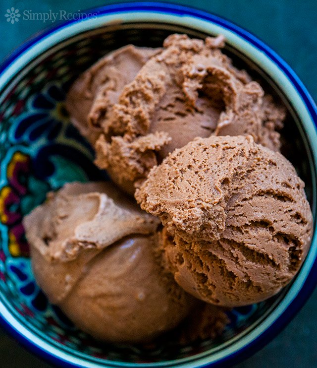 Mexican Chocolate Ice Cream | SimplyRecipes.com