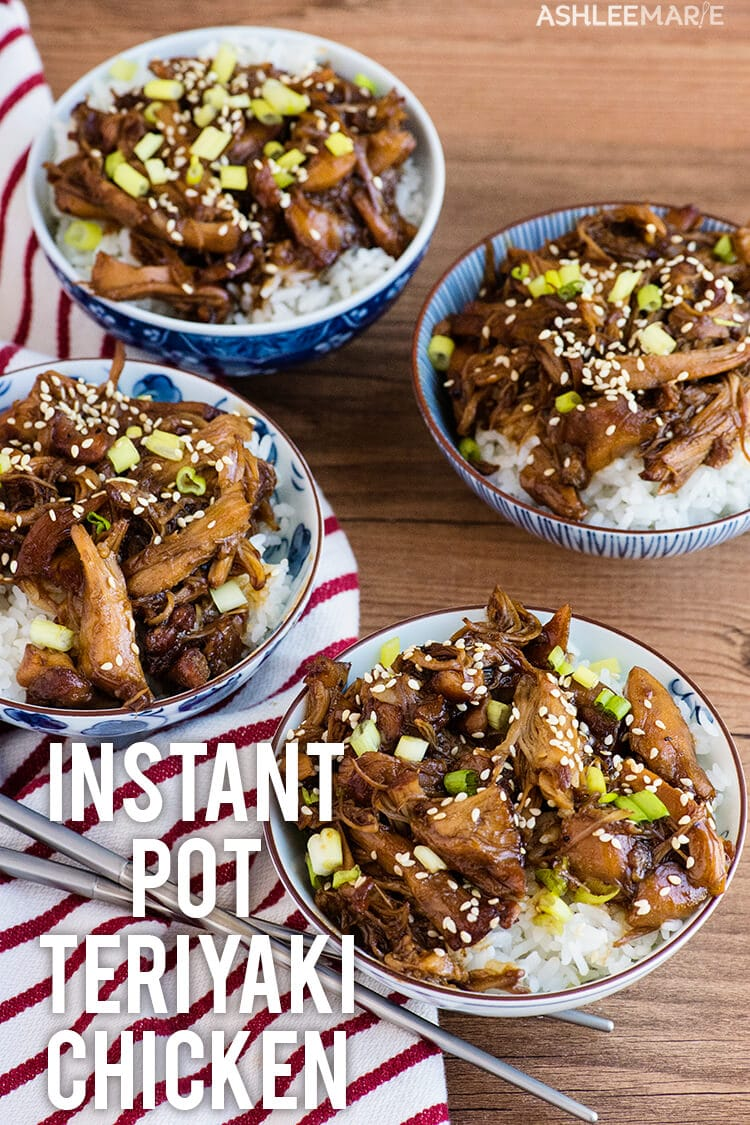 best instant pot teriyaki chicken recipe and video