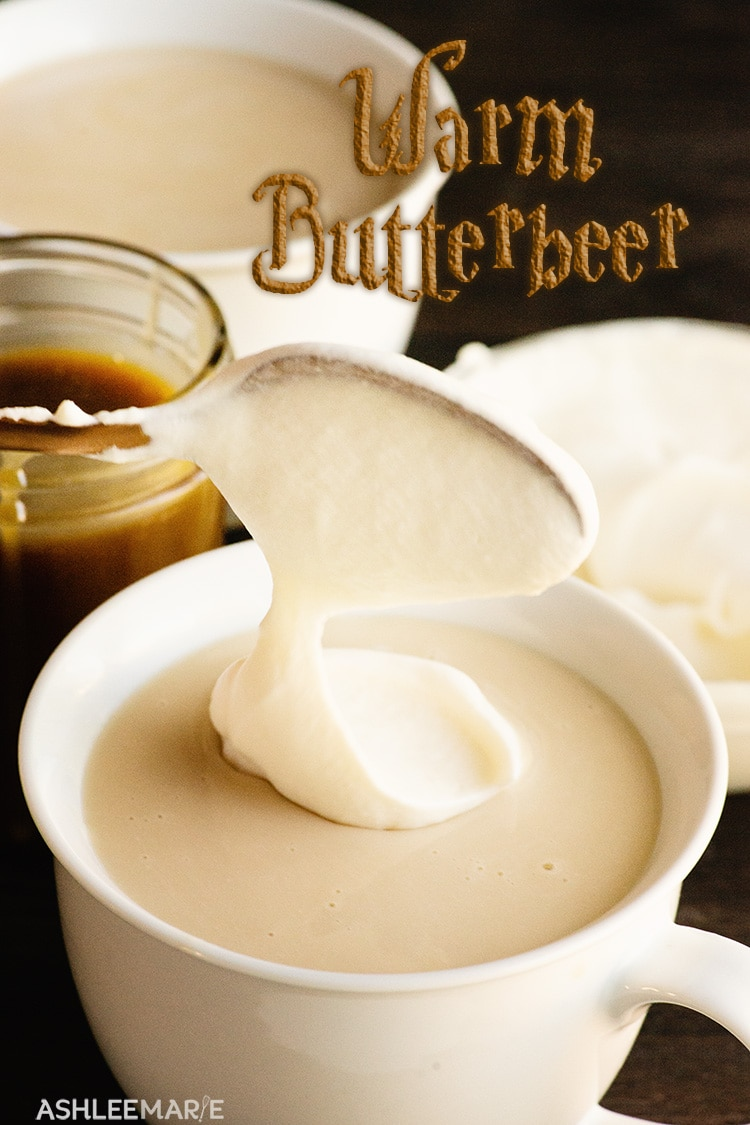 homemade warm butterbeer recipe and video