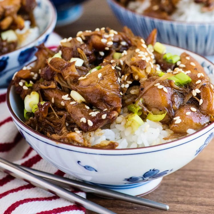 instant pot chicken teriyaki recipe