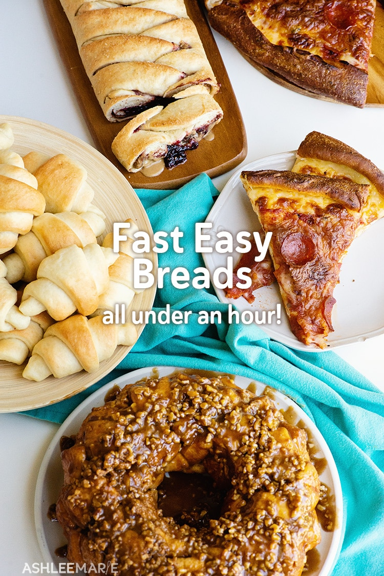 Fast easy breads under an hour