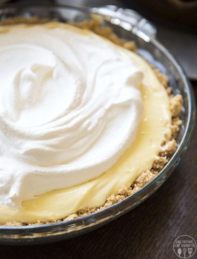 Banana Cream Pie - Like Mother Like Daughter