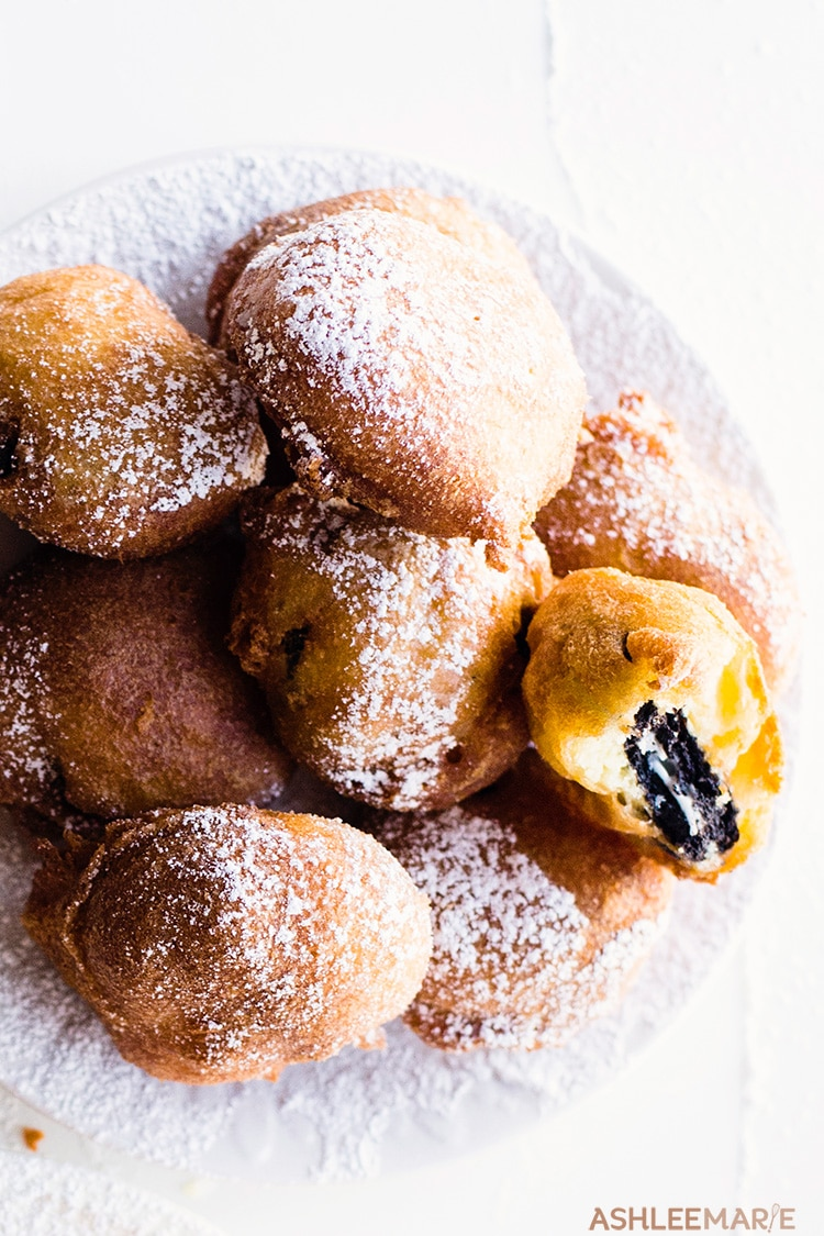 fair food deep fried oreos