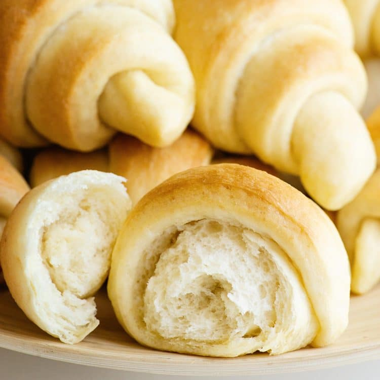 fast easy soft crescent rolls