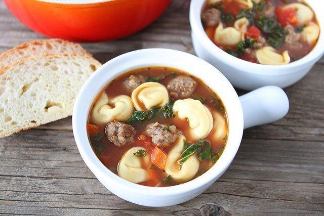 Italian Sausage Tortellini Soup | Tortellini Soup Recipe