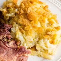 ham and cheesy potatoes