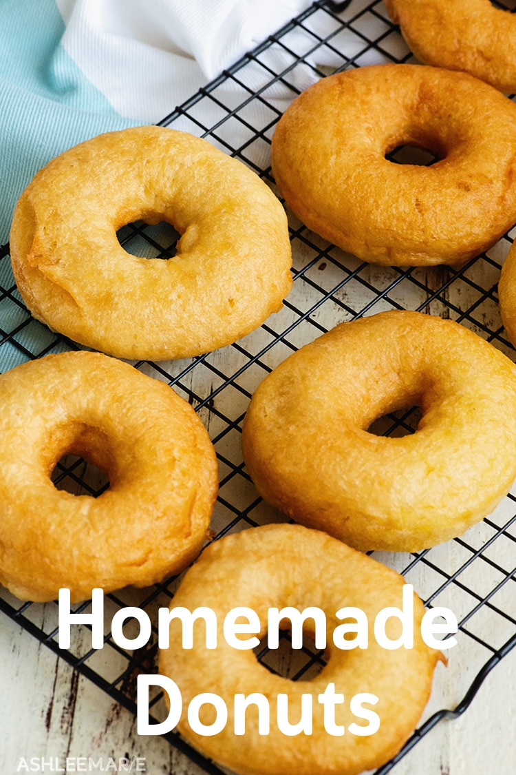 Homemade Raised Donuts with Glaze