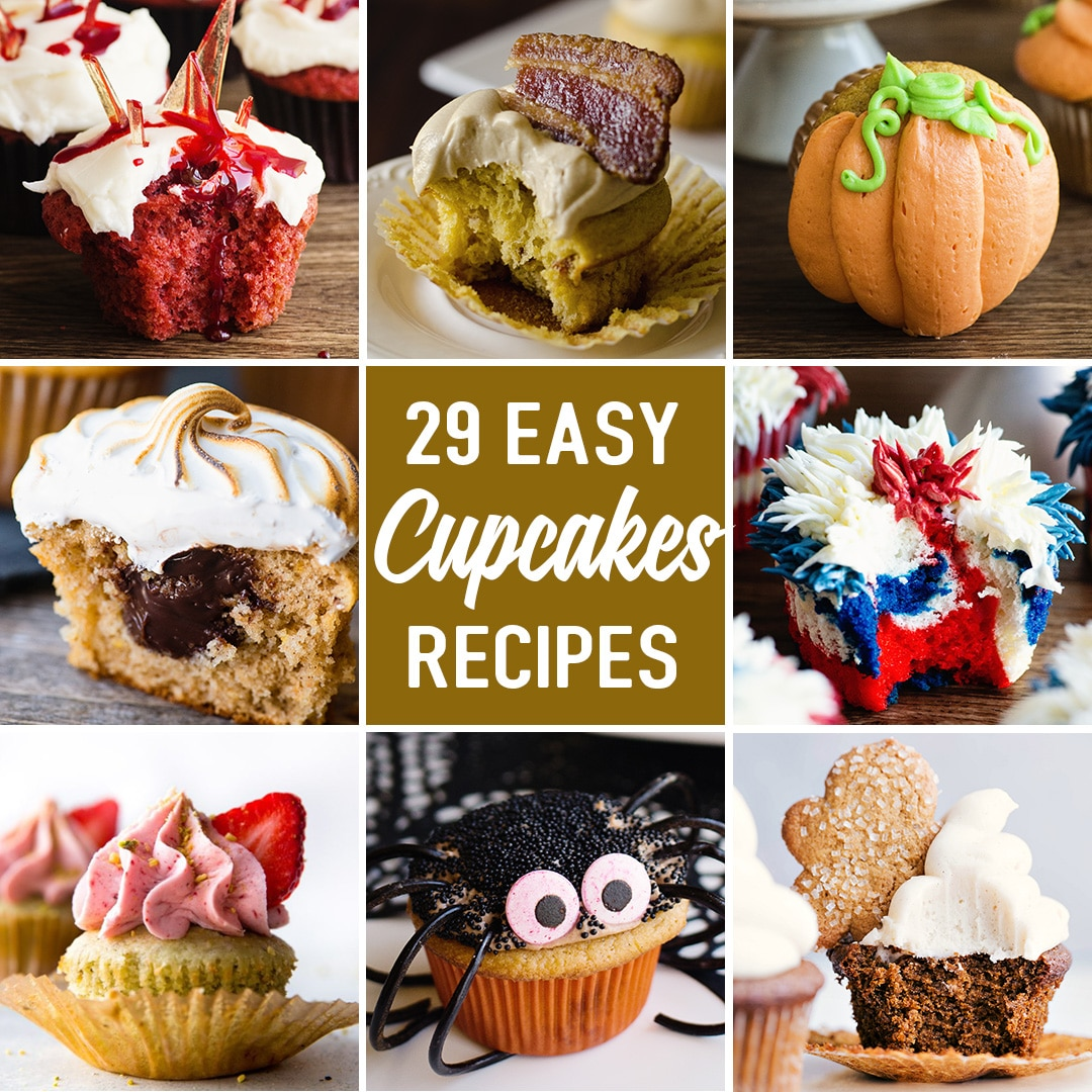 twenty nine cupcake recipes