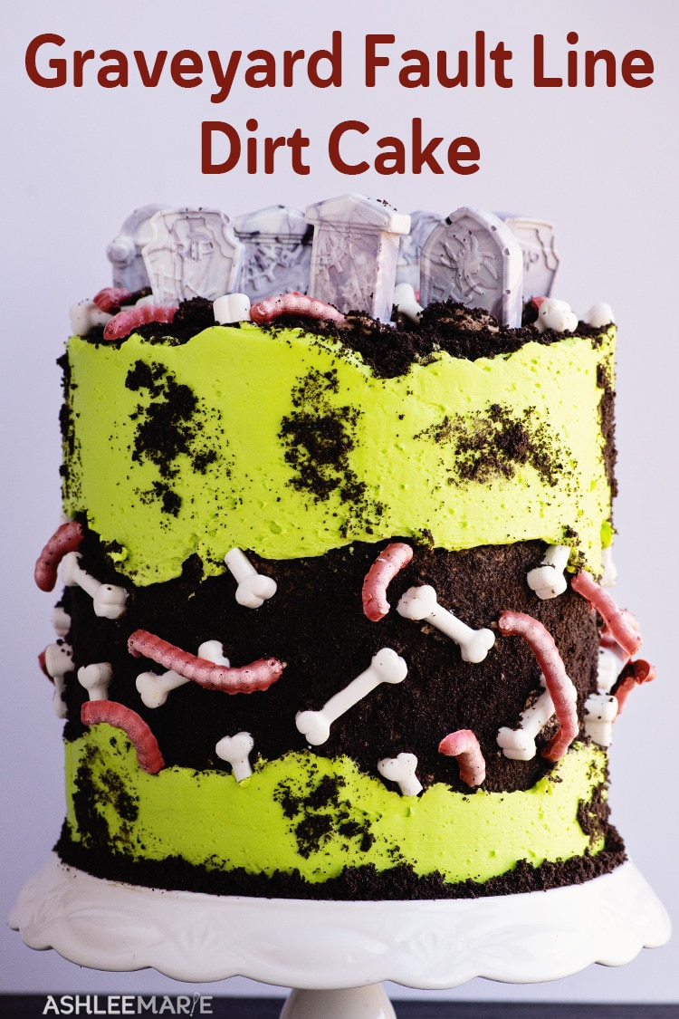 graveyard fault line dirt cake video tutorial