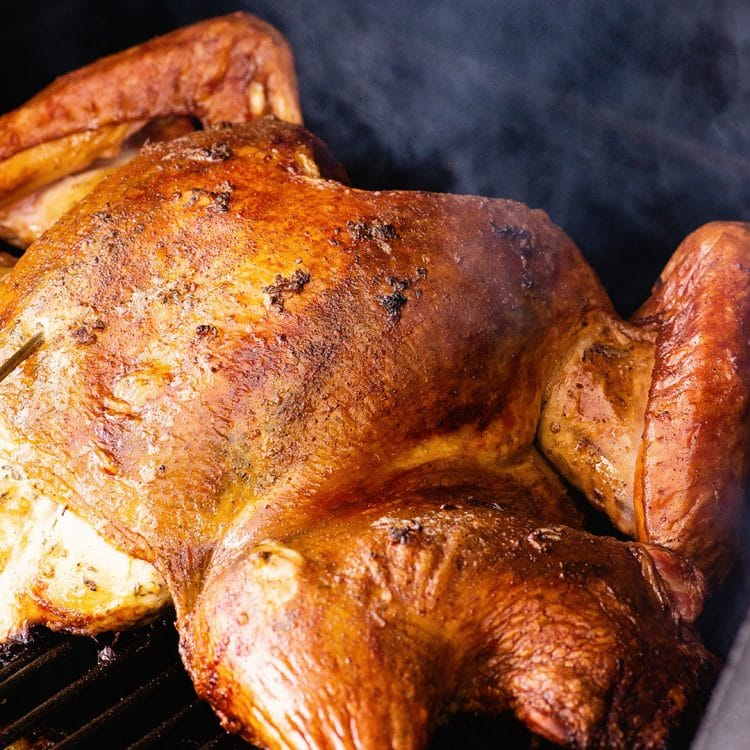 smoked turkey recipe video