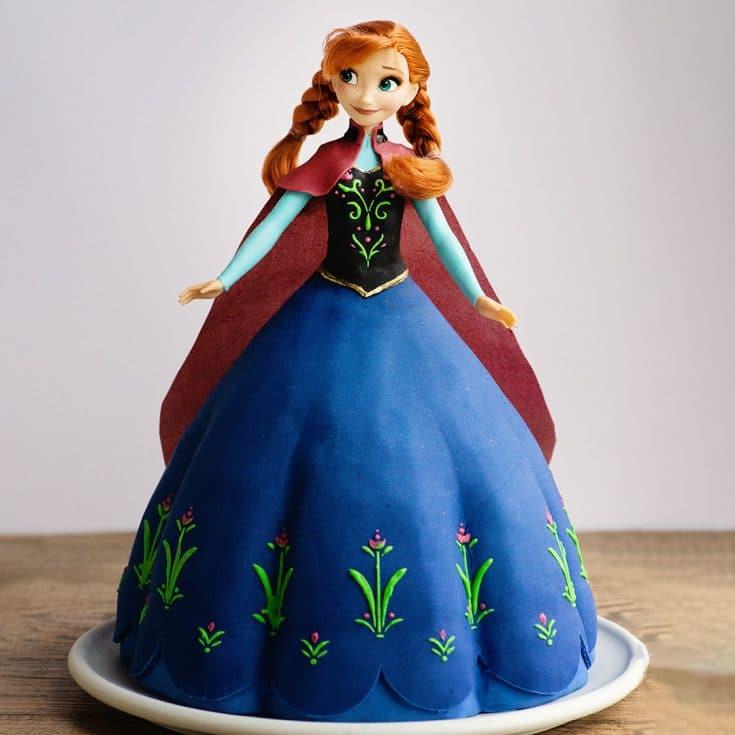 Frozen 1 Anna Cake Princess Cake