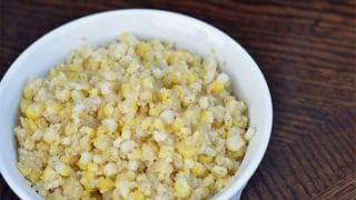 Quinoa & Corn