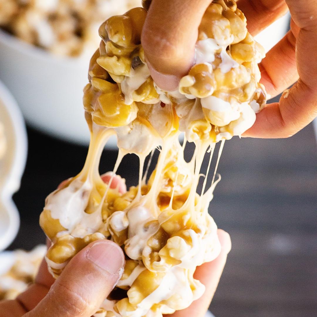 caramel butterbeer popcorn