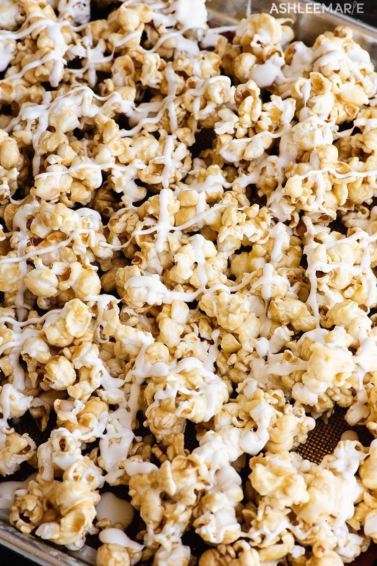 crunchy butterbeer popcorn recipe