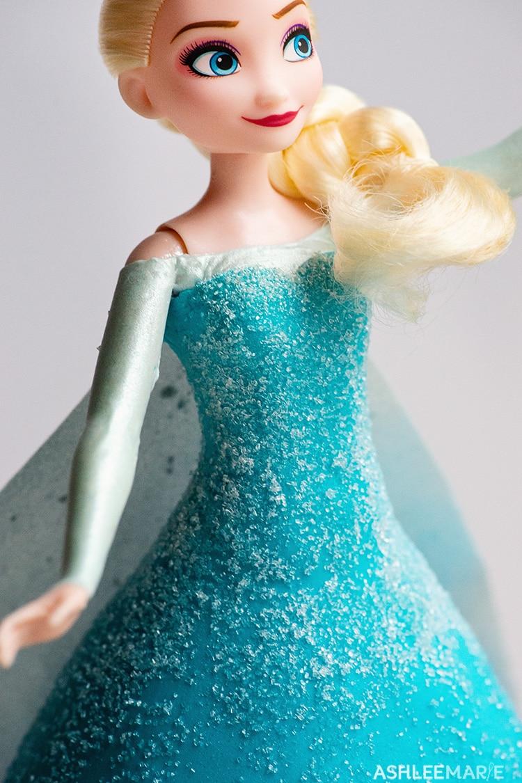 elsa frozen 1 cake tutorial bodice details