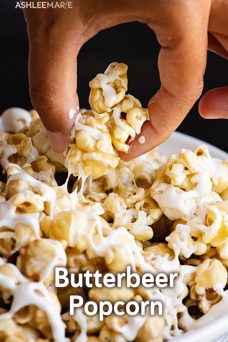 gooey butterbeer popcorn recipe