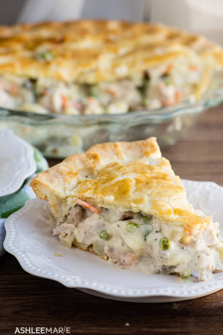how to make chicken pot pie recipe