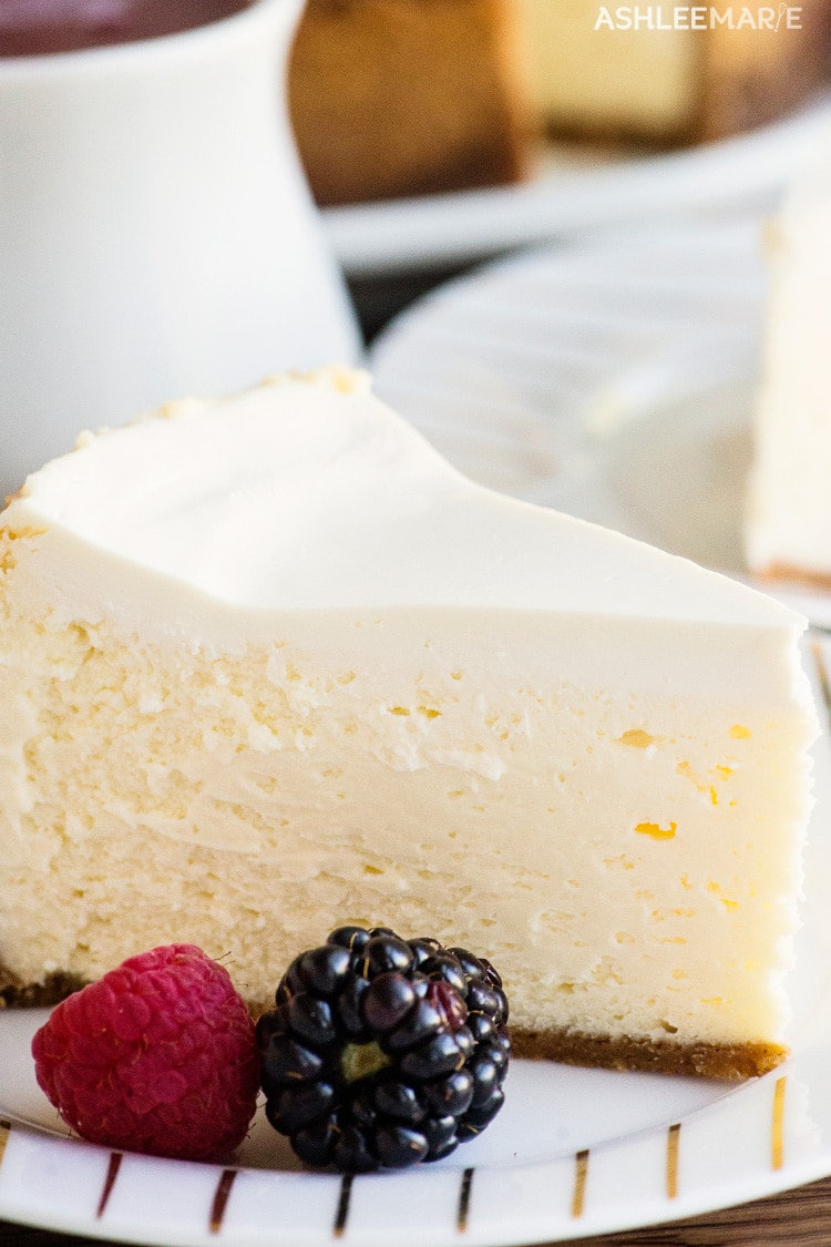 cheesecake recipe and video tutorial
