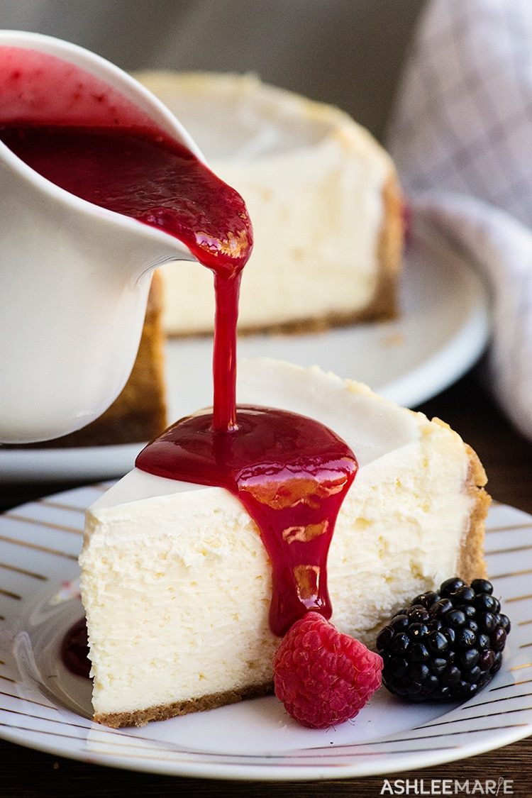 how to get the perfect cheesecake