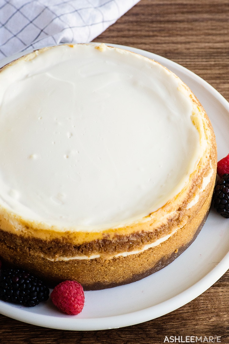 perfect dense and creamy cheesecake recipe