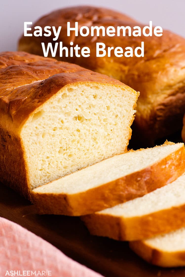 easy homemade white sandwich bread recipe
