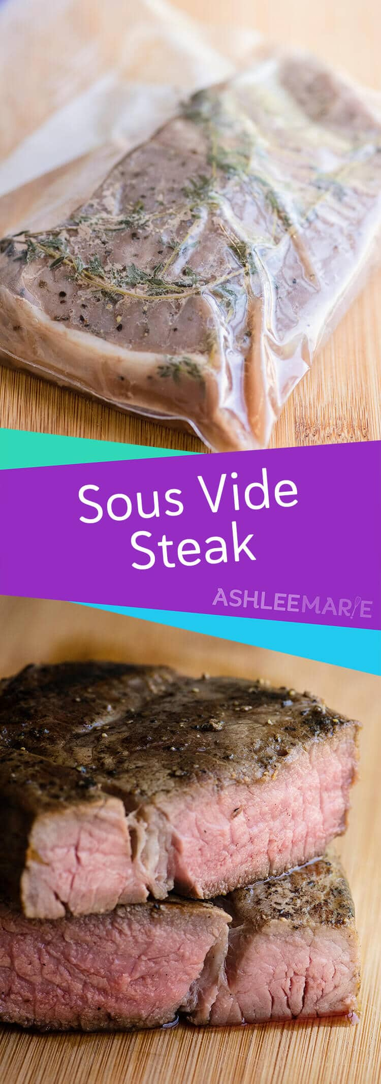 how to make the perfect medium-rare steak - sous vide cooking. This method creates melt in your mouth perfectly cooked steak that will amazing everyone.